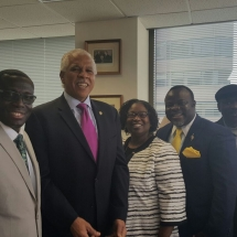 Meeting with NAACP President Hilary Shelton